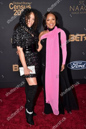 Grace Gibson and Lynn Whitfield