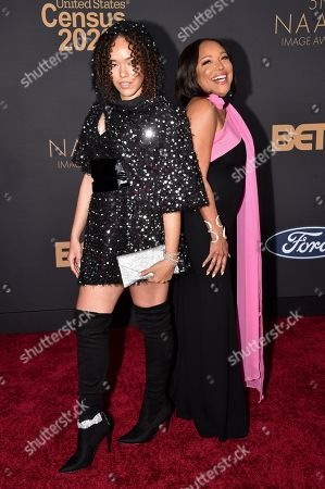 Stock Image of Grace Gibson and Lynn Whitfield
