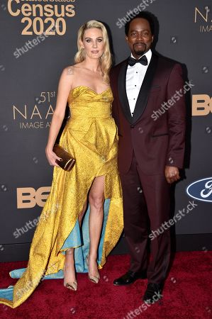 Brittany Perrineau and Harold Perrineau