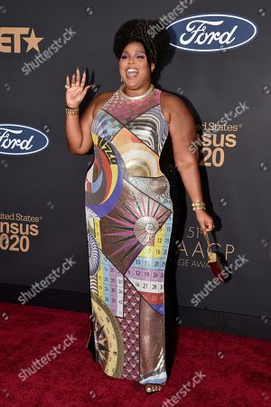 Editorial image of 51st Annual NAACP Image Awards, Arrivals, Pasadena Civic Auditorium, Los Angeles, USA - 22 Feb 2020