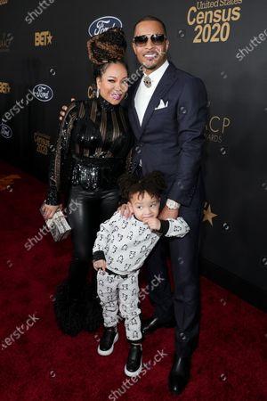 Tameka Harris, T I. and family