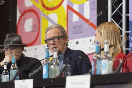 Stock Picture of Cinematographer Benoit Delhomme, Bill Nighy and Katherine Jenkins