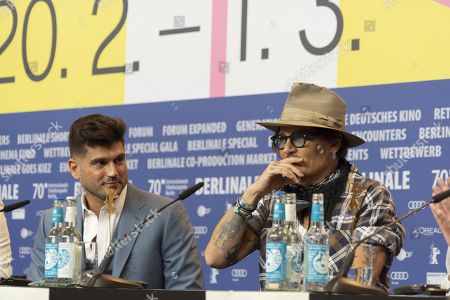 Andrew Levitas and Johnny Depp