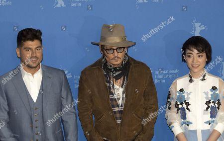 Andrew Levitas, Johnny Depp and Minami Hinase