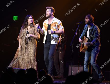 Stock Picture of Lady Antebellum - Hillary Scott, Charles Kelley and Dave Haywood