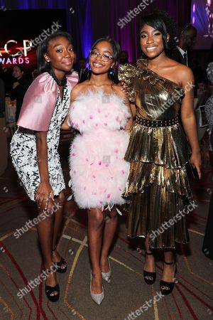 Shahadi Wright Joseph, Marsai Martin and Lyric Ross