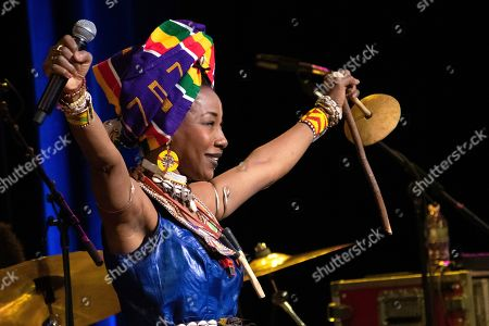 Stock Picture of Fatoumata Diawara