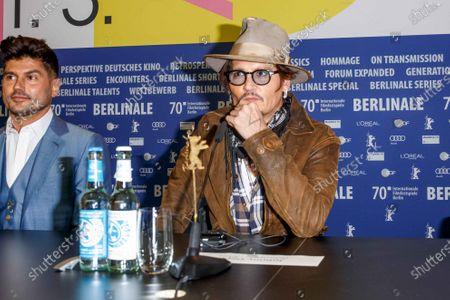 Andrew Levitas, Johnny Depp
