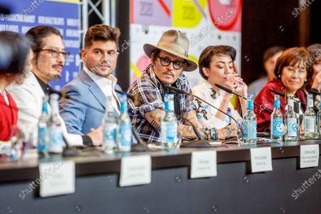 Hiroyuki Sanada, Andrew Levitas, Johnny Depp, Minami, Aileen Mioko Smith