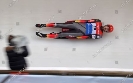 Editorial photo of Luge World Cup Winterberg, Germany - 22 Feb 2020