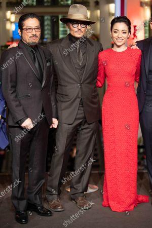 Editorial picture of 'Minamata' premiere, 70th Berlin International Film Festival, Germany - 21 Feb 2020