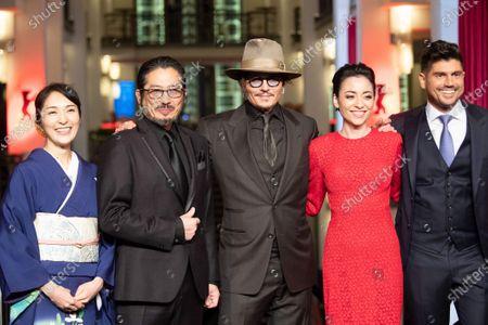 Andrew Levitas, Johnny Depp, Minami Hinase