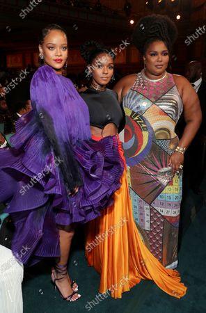 Rihanna, Janelle Monae and Lizzo