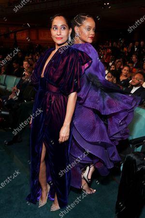 Tracee Ellis Ross and Rihanna