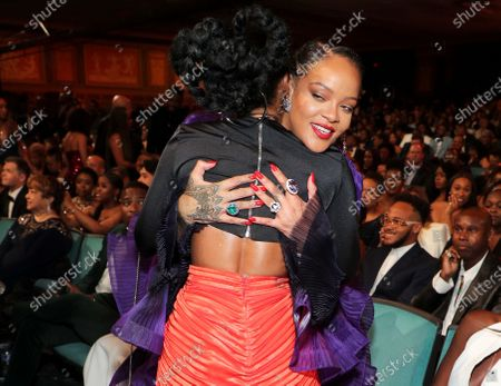 Janelle Monae and Rihanna