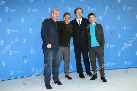 Vadim Perelman, Ilja Zofin, Lars Eidinger and Nahuel Perez Biscayart