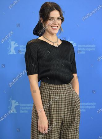 Callie Hernandez poses during the 'One Of These Days' photocall during the 70th annual Berlin International Film Festival (Berlinale), in Berlin, Germany, 22 February 2020. The movie is presented in the Panorama section at the Berlinale that runs from 20 February to 01 March 2020.