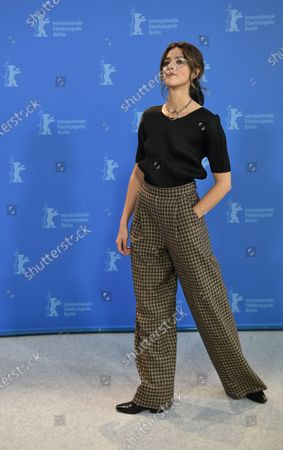 Callie Hernandez poses during the 'One Of These Days' photocall during the 70th annual Berlin International Film Festival (Berlinale), in Berlin, Germany, XX February 2020. The movie is presented in the Panorama section at the Berlinale that runs from 20 February to 01 March 2020.