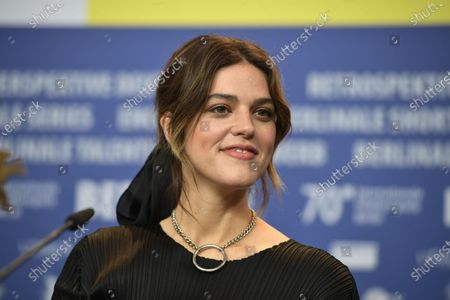Callie Hernandez attends the press conferecen for 'One of These Days' during the 70th annual Berlin International Film Festival (Berlinale), in Berlin, Germany, 22 February 2020. The movie is presented in the Panorama section at the Berlinale that runs from 20 February to 01 March 2020.