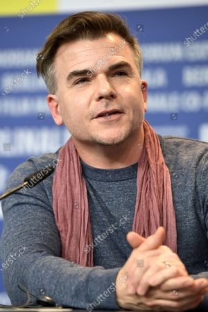 Stock Image of Cullen Moss attends the press conferecen for 'One of These Days' during the 70th annual Berlin International Film Festival (Berlinale), in Berlin, Germany, 22 February 2020. The movie is presented in the Panorama section at the Berlinale that runs from 20 February to 01 March 2020.