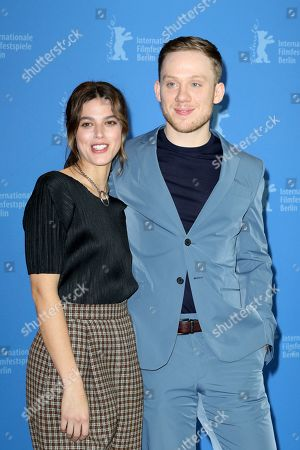 Callie Hernandez and Joe Cole