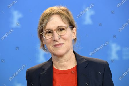 Kelly Reichardt poses during the 'First Cow' photocall during the 70th annual Berlin International Film Festival (Berlinale), in Berlin, Germany, 22 February 2020. The movie is presented in the Official Competition at the Berlinale that runs from 20 February to 01 March 2020.