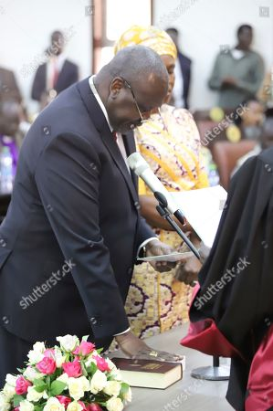 Editorial picture of Swearing In, Juba, South Sudan - 22 Feb 2020