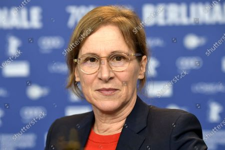 Kelly Reichardt attends the 'First Cow' press conference during the 70th annual Berlin International Film Festival (Berlinale), in Berlin, Germany, 22 February 2020. The movie is presented in the Official Competition at the Berlinale that runs from 20 February to 01 March 2020.