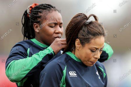 Sene Naoupu and Linda Djougang