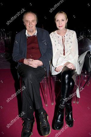Dario Argento and Maria Casale