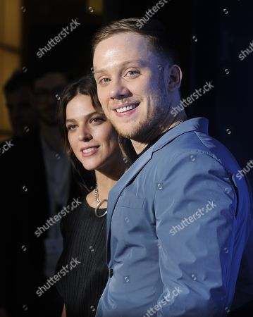 Stock Picture of Callie Hernandez and Joe Cole