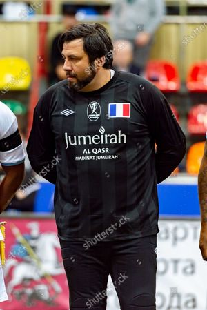 Stock Picture of Sebastien Frey of France
