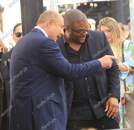 Dr. Phil McGraw and Tyler Perry