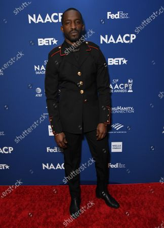 Editorial image of 51st NAACP Image Awards Non-Televised Dinner, Arrivals, Los Angeles, USA - 21 Feb 2020
