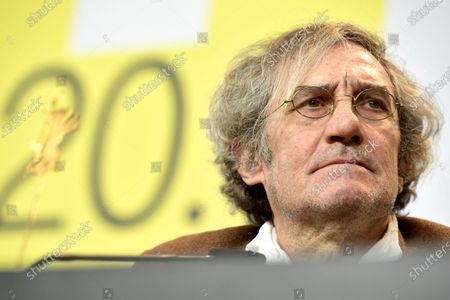 Philippe Garrel attends the press conference for 'Le Sel Des Larmes (The Salt of Tears)' during the 70th annual Berlin International Film Festival (Berlinale), in Berlin, Germany, 22 February 2020. The movie is presented in the Official Competition at the Berlinale that runs from 20 February to 01 March 2020.
