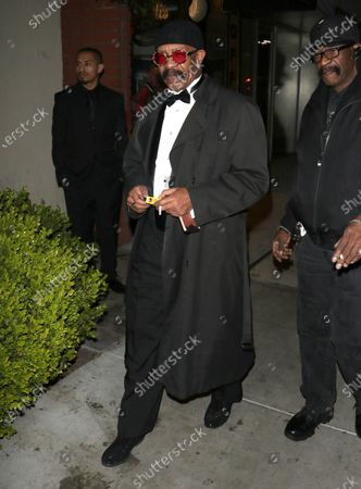 Stock Image of Dennis Graham outside Boulevard 3 in West Hollywood