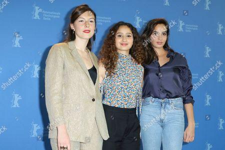 Louise Chevillotte, Oulaya Amamra and Souheila Yacoub