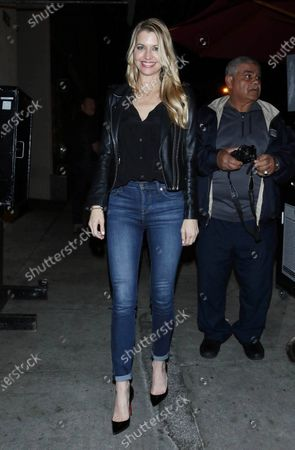 Editorial image of Jamie Anderson out and about, Los Angeles, USA - 21 Feb 2020