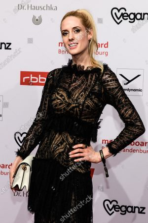 Wilma Elles arrives for the reception of the Medienboard Berlin-Brandenburg (MBB) during the 70th annual Berlin International Film Festival (Berlinale), in Berlin, Germany, 22 February 2020. The Berlinale runs from 20 February to 01 March 2020.