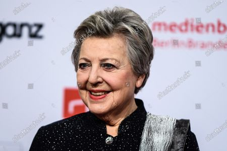 Marie-Luise Marjan arrives for the reception of the Medienboard Berlin-Brandenburg (MBB) during the 70th annual Berlin International Film Festival (Berlinale), in Berlin, Germany, 22 February 2020. The Berlinale runs from 20 February to 01 March 2020.