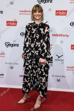 Heike Makatsch arrives for the reception of the Medienboard Berlin-Brandenburg (MBB) during the 70th annual Berlin International Film Festival (Berlinale), in Berlin, Germany, 22 February 2020. The Berlinale runs from 20 February to 01 March 2020.