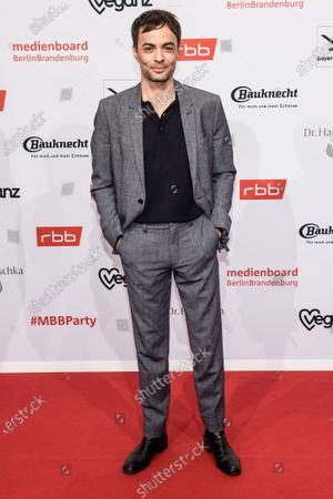 Stock Picture of Nikolai Kinski arrives for the reception of the Medienboard Berlin-Brandenburg (MBB) during the 70th annual Berlin International Film Festival (Berlinale), in Berlin, Germany, 22 February 2020. The Berlinale runs from 20 February to 01 March 2020.