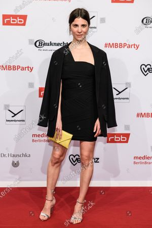Aylin Tezel arrives for the reception of the Medienboard Berlin-Brandenburg (MBB) during the 70th annual Berlin International Film Festival (Berlinale), in Berlin, Germany, 22 February 2020. The Berlinale runs from 20 February to 01 March 2020.