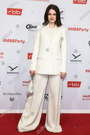 Ruby O. Fee arrives for the reception of the Medienboard Berlin-Brandenburg (MBB) during the 70th annual Berlin International Film Festival (Berlinale), in Berlin, Germany, 22 February 2020. The Berlinale runs from 20 February to 01 March 2020.