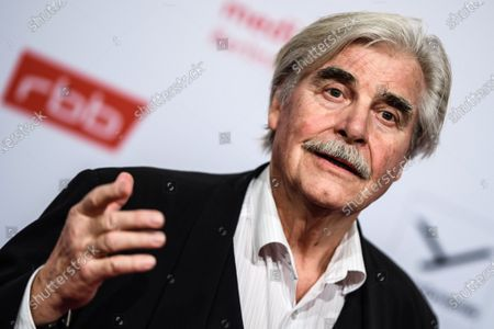 Stock Image of Peter Simonischek arrives for the reception of the Medienboard Berlin-Brandenburg (MBB) during the 70th annual Berlin International Film Festival (Berlinale) in Berlin, Germany, 22 February 2020. The Berlinale runs from 20 February to 01 March 2020.