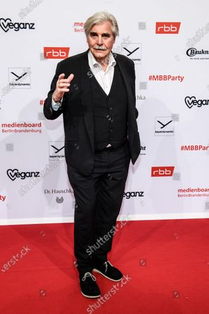 Peter Simonischek arrives for the reception of the Medienboard Berlin-Brandenburg (MBB) during the 70th annual Berlin International Film Festival (Berlinale) in Berlin, Germany, 22 February 2020. The Berlinale runs from 20 February to 01 March 2020.