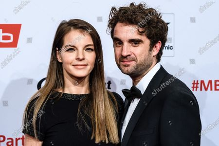 Yvonne Catterfeld (L) and Oliver Wnuk arrive for the reception of the Medienboard Berlin-Brandenburg (MBB) during the 70th annual Berlin International Film Festival (Berlinale) in Berlin, Germany, 22 February 2020. The Berlinale runs from 20 February to 01 March 2020.