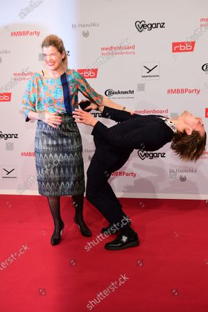 Editorial image of Reception MBB - 70th Berlin Film Festival, Germany - 22 Feb 2020