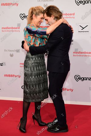 Editorial photo of Reception MBB - 70th Berlin Film Festival, Germany - 22 Feb 2020