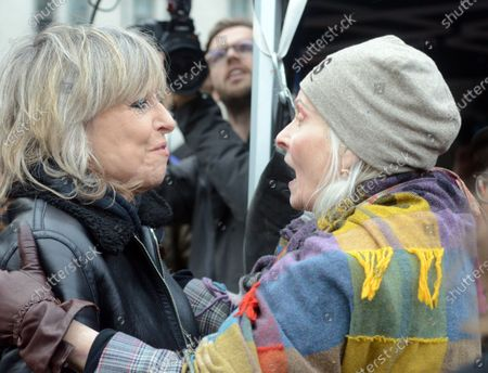 Chrissie Hynde and Vivienne Westwood.